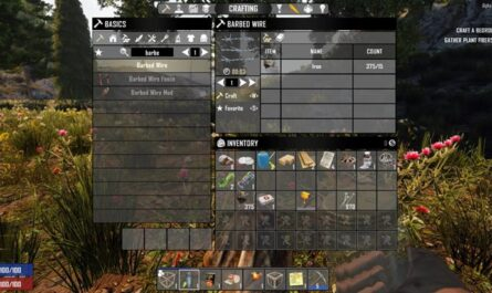 7 days to die barbed wire, 7 days to die traps, 7 days to die building materials