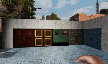 7 days to die double door mod, 7 days to die doors, 7 days to die building materials