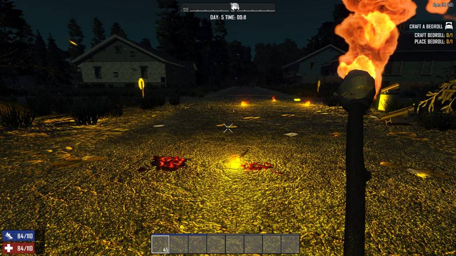 7 days to die new torch system, 7 days to die torches, 7 days to die lights, 7 days to die weapons