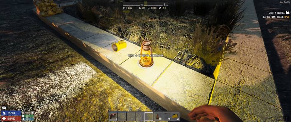 7 days to die placeable lights, 7 days to die lights, 7 days to die molotov, 7 days to die weapons