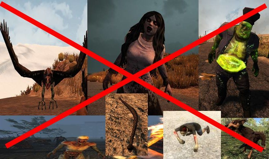 Reality Check (Removing Some Zombies & Animals)