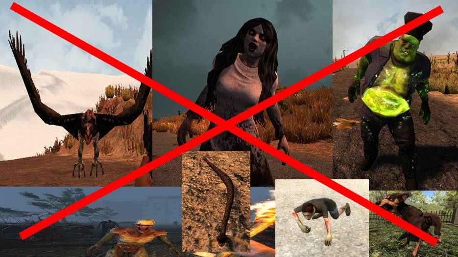 7 days to die reality check removing some zombies animals, 7 days to die animals, 7 days to die zombies