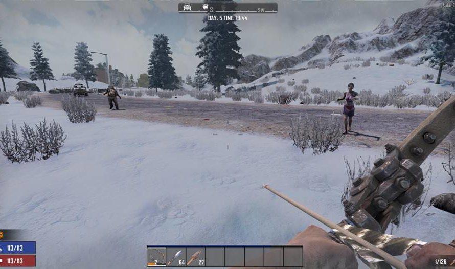 Snow Biome Zombie Variety