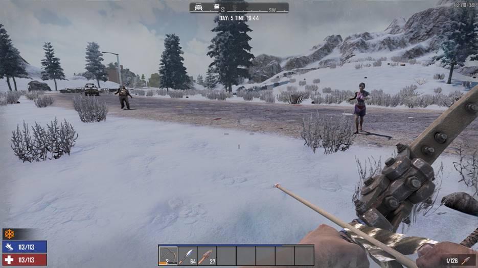 7 days to die snow biome zombie variety, 7 days to die snow biome, 7 days to die zombies, 7 days to die biomes