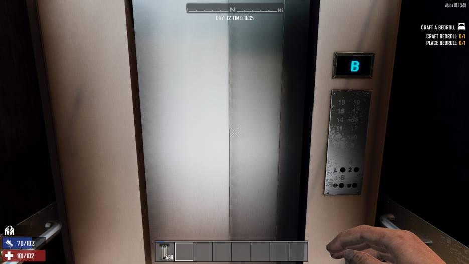 7 days to die working elevator, 7 days to die building materials, 7 days to die elevator mod