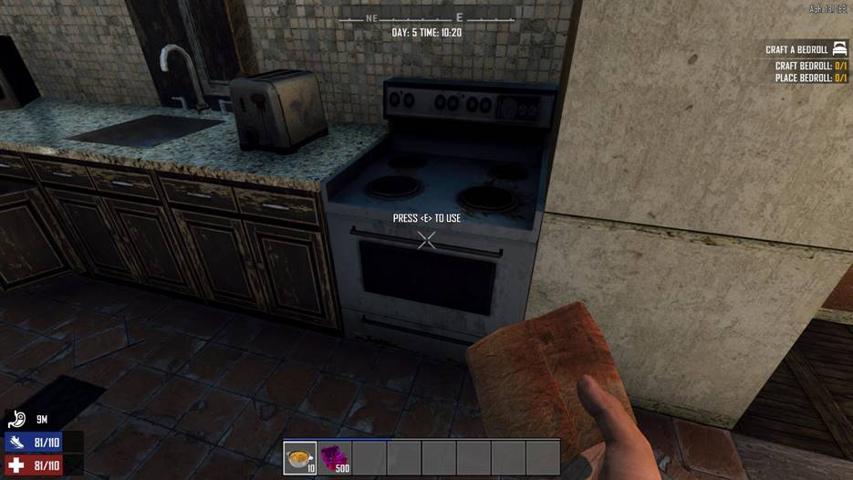 7 days to die working stove mod, 7 days to die building materials