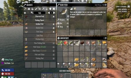 7 days to die fishing mod by meancloud, 7 days to die tools, 7 days to die traps, 7 days to die animals, 7 days to die food, 7 days to die fishing