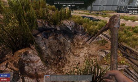 7 days to die superpick digger tool mod, 7 days to die tools, 7 days to die melee weapons, 7 days to die weapons
