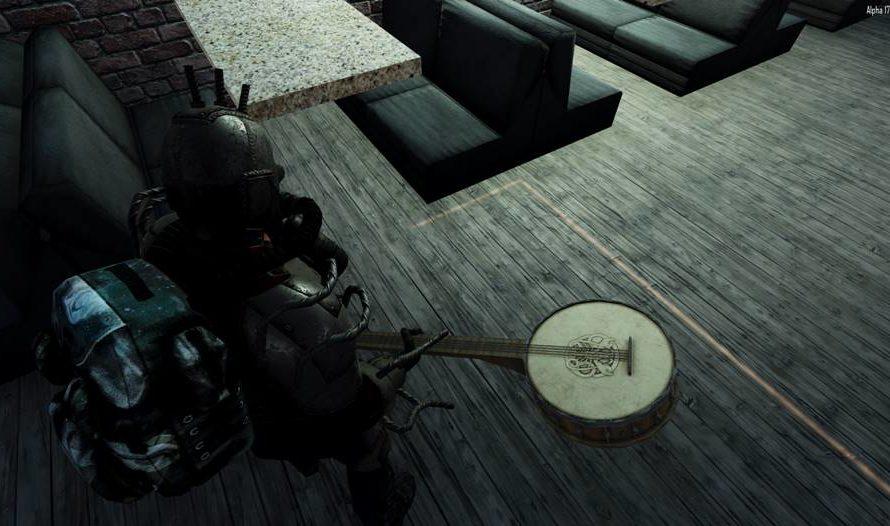 Banjo Melee Weapon
