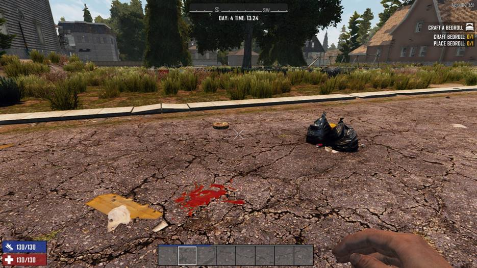 7 days to die birds nest and trash bag destroy upon loot, 7 days to die loot