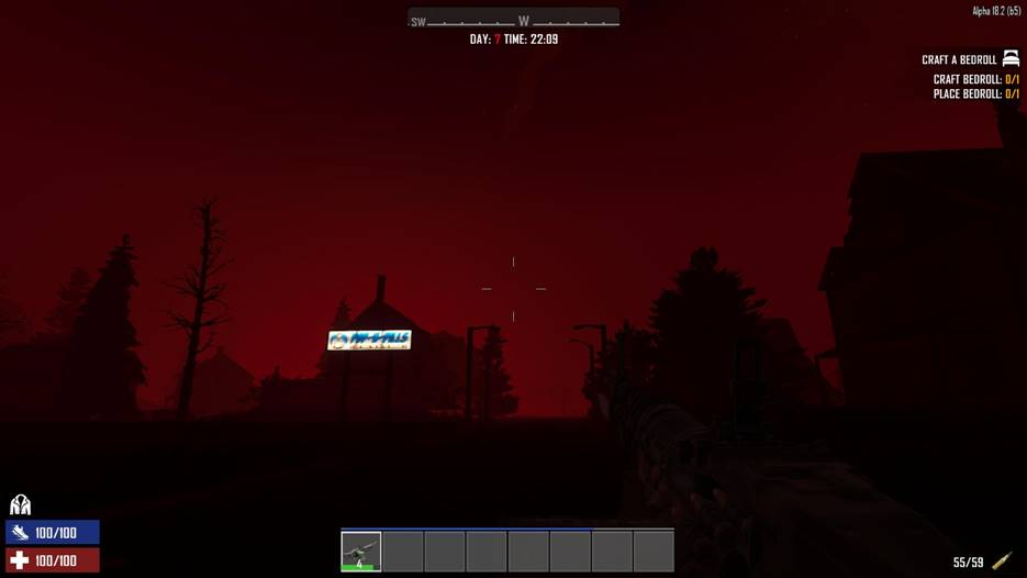 7 days to die blood moon fix, 7 days to die zombies