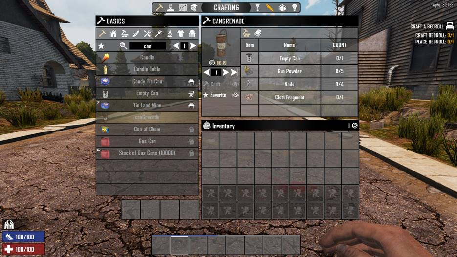 7 days to die can grenade mod, 7 days to die weapons