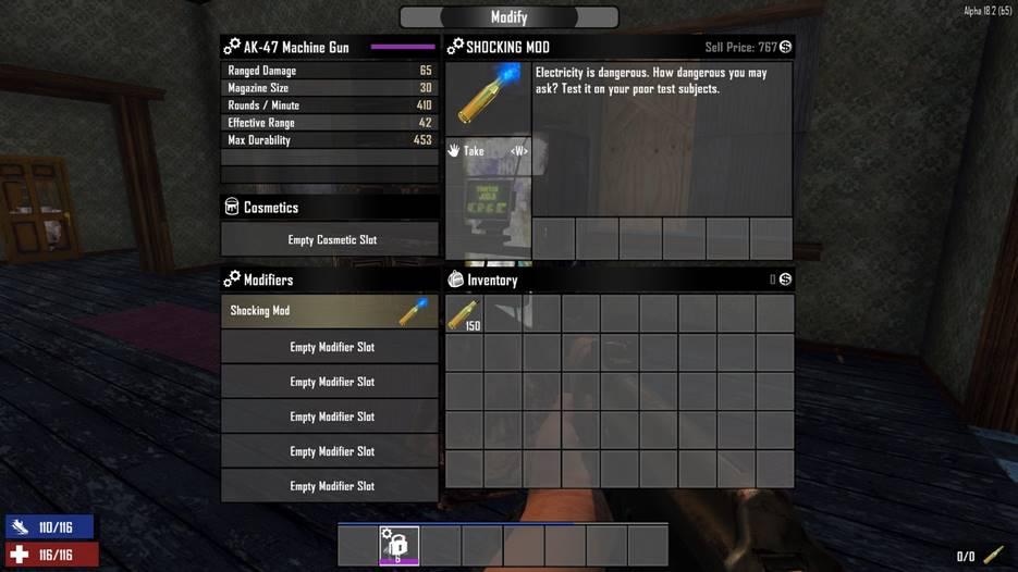 7 days to die elemental bullets, 7 days to die weapons, 7 days to die recipes, 7 days to die ammo