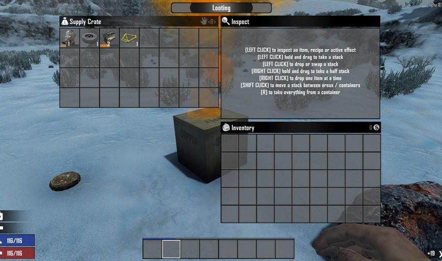 Find Vehicle Parts in Airdrops