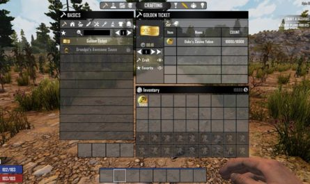 7 days to die golden ticket