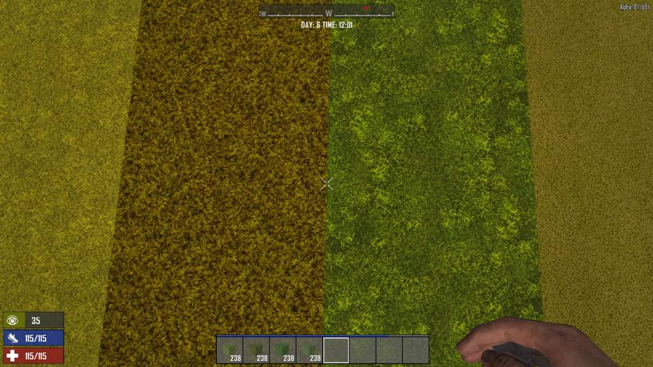 7 days to die grass blocks, 7 days to die building materials