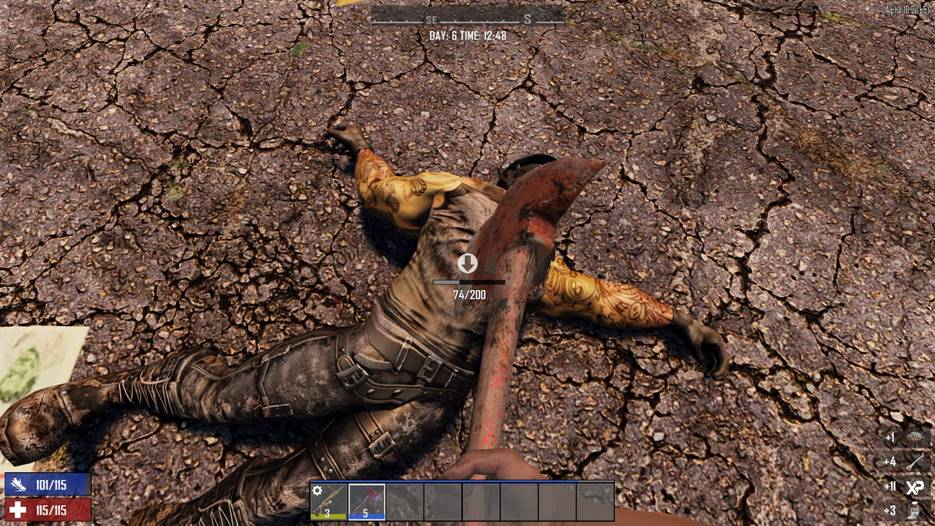 7 days to die harvestable zombie parts, 7 days to die zombies, 7 days to die loot