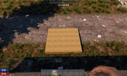 7 days to die hay bale blocks no damage