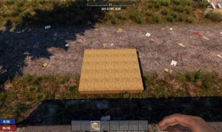 7 days to die hay bale blocks no damage