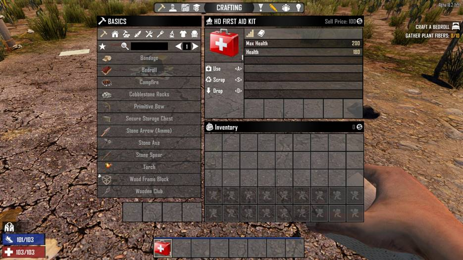 7 days to die hd first aid kit, 7 days to die medical supplies