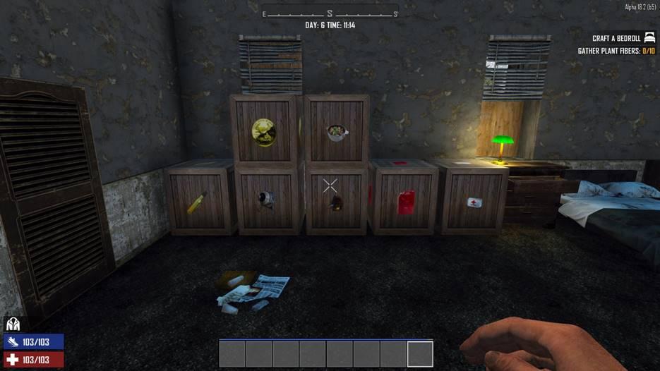 7 days to die hd supply boxes, 7 days to die storage