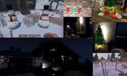 7 days to die hn christmas mod, 7 days to die lights, 7 days to die building materials