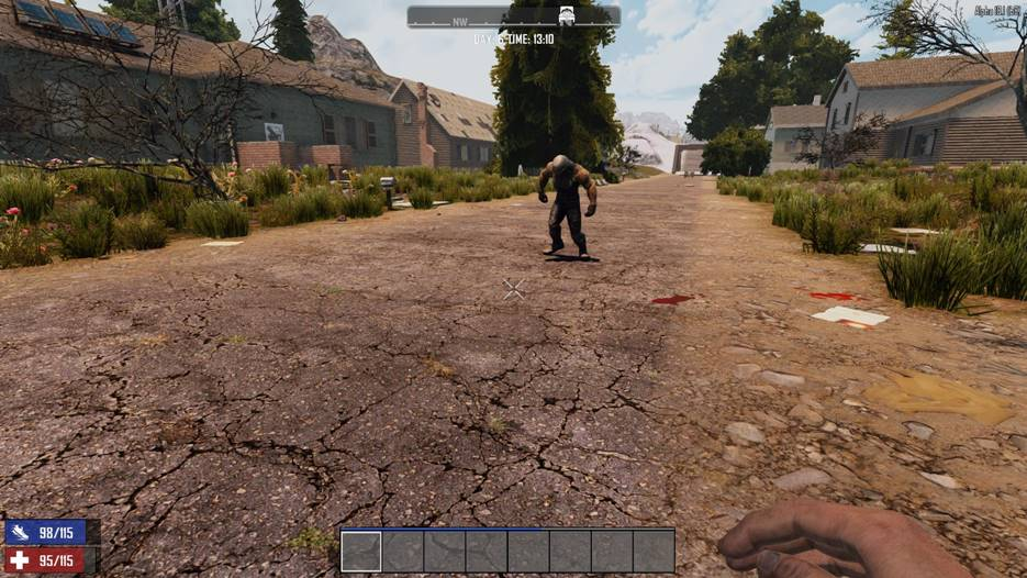7 days to die increased zombie sight against players, 7 days to die zombies