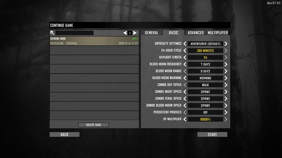 7 days to die more options by claymore, 7 days to die experience, 7 days to die loot, 7 days to die zombies