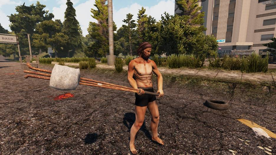7 days to die rebar club melee weapon, 7 days to die melee weapons, 7 days to die weapons