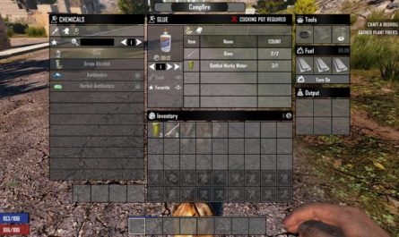 7 days to die reduced glue