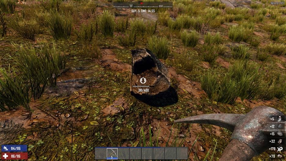 7 days to die return of resources, 7 days to die mining