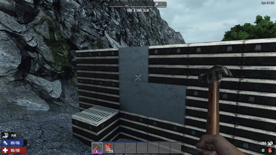 7 days to die stainless steel returns for a18, 7 days to die stainless steel, 7 days to die steel polish, 7 days to die building materials