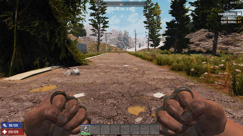 7 days to die steel knuckle model replacement, 7 days to die melee weapons, 7 days to die weapons