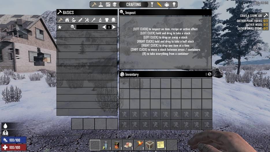 7 days to die no crafting mod