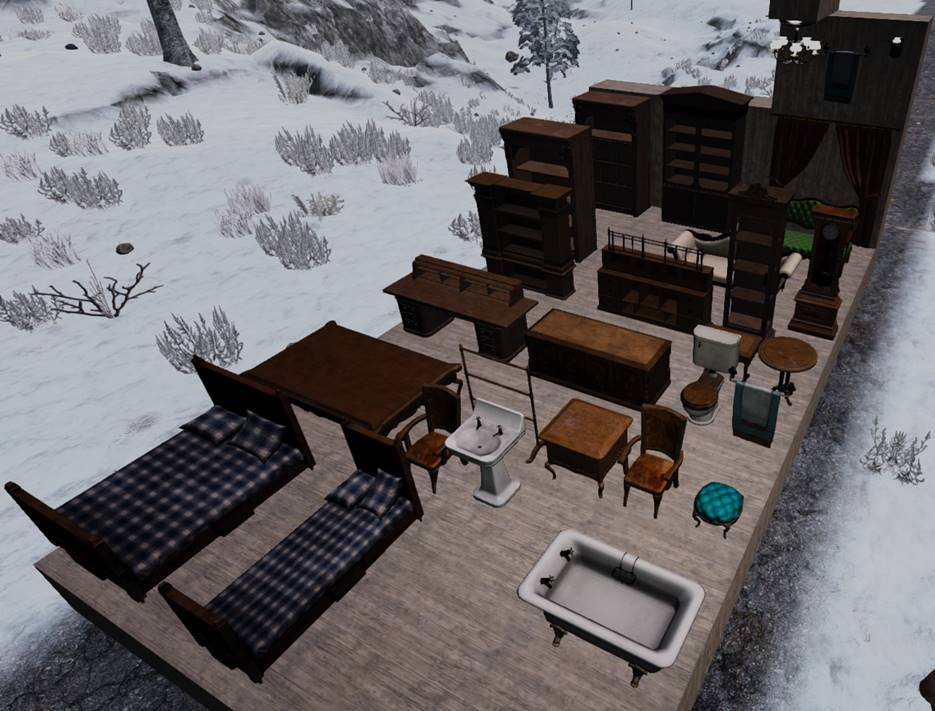 7 days to die victorian blocks mod, 7 days to die building materials