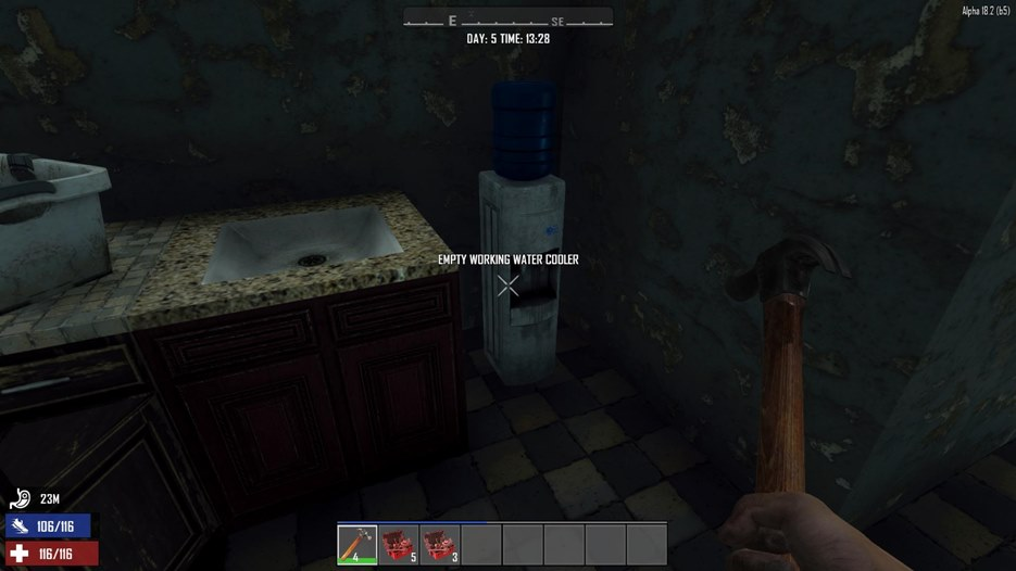 7 days to die working sinks and water coolers, 7 days to die building materials