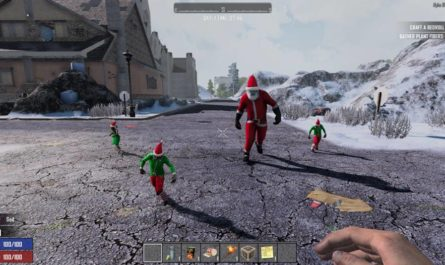 7 days to die xmas zombies, 7 days to die christmas, 7 days to die zombies