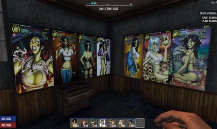 7 days to die zombie tramp pbh, 7 days to die poster, 7 days to die building materials