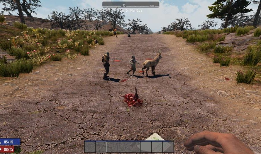 Zombies Attack Animals