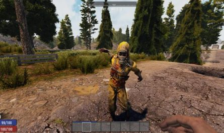 7 days to die enemy reach shortener, 7 days to die zombies