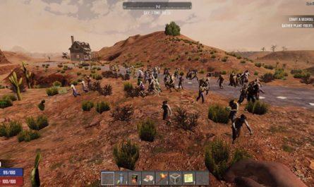 7 days to die increased wandering hordes, 7 days to die zombies