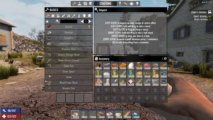 7 days to die 30k item stacks, 7 days to die stack size