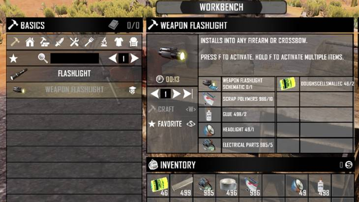 7 days to die add five recipe ingredients (ui), 7 days to die more slots, 7 days to die recipes