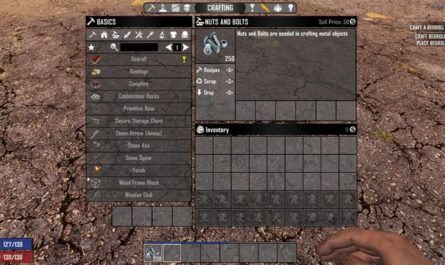 7 days to die awww nuts, 7 days to die building materials