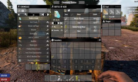 7 days to die craft acid