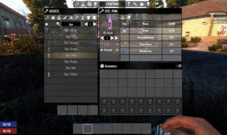 7 days to die dcsobral's craftable dyes, 7 days to die dye mod, 7 days to die dye colors