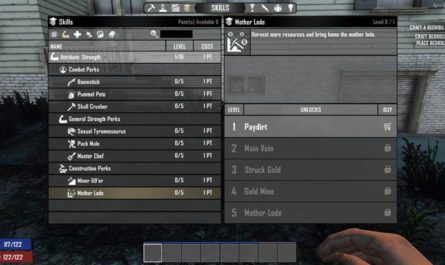 7 days to die double mother lode plus, 7 days to die mining, 7 days to die perks