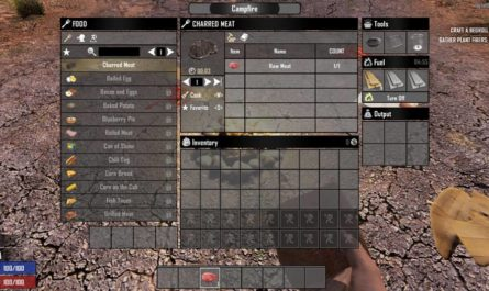 7 days to die less grind, 7 days to die food, 7 days to die building materials