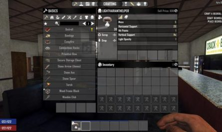 7 days to die lights helper, 7 days to die lights, 7 days to die electricity, 7 days to die building materials