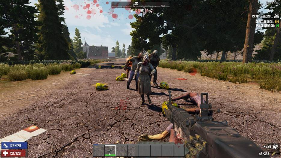 7 days to die mega loot bags, 7 days to die loot, 7 days to die zombies